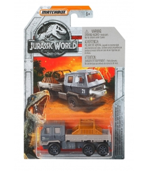 MATCHBOX JURASSIC WORLD DIECAST CAR - OFF ROAD RESCUE RIG