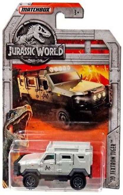 MATCHBOX JURASSIC WORLD DIECAST CAR - 10 TEXTRON TIGER GREY