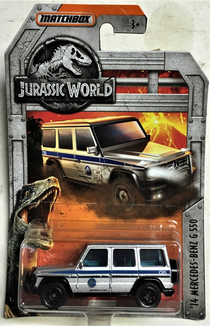 MATCHBOX JURASSIC WORLD DIECAST CAR - 14 MERCEDES-BENZ G 550