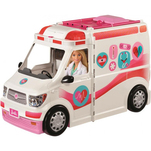 BARBIE LARGE RESCUE VEHICLE - CARE CLINIC