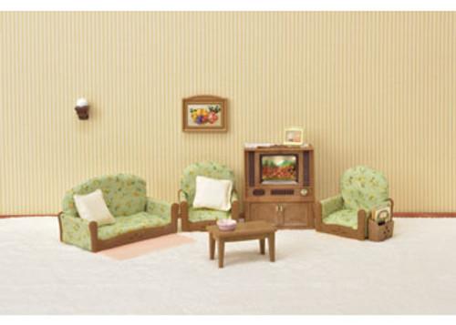 SF - LIVING ROOM & TV SET