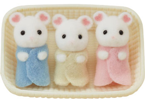 SF - MARSHMALLOW MOUSE TRIPLETS