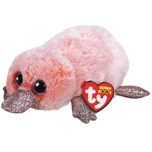 BEANIE BOOS REGULAR - WILMA THE PINK PLATYPUS