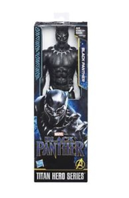 BLACK PANTHER 12 INCH HERO FIGURE - BLACK PANTHER