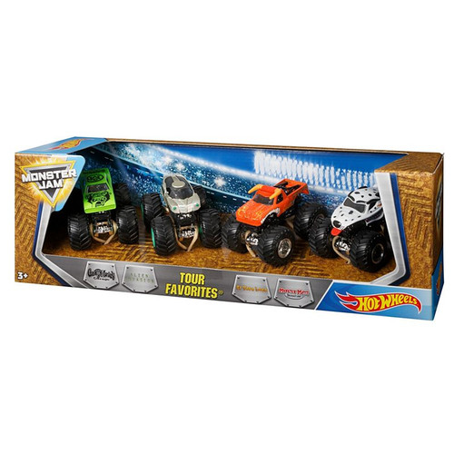 HOT WHEELS MONSTER JAM TOUR FAVOURITES 1