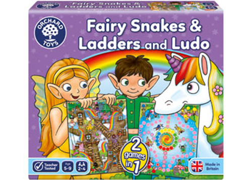 ORCHARD GAMES - FAIRY SNAKES & LADDERS AND LUDO