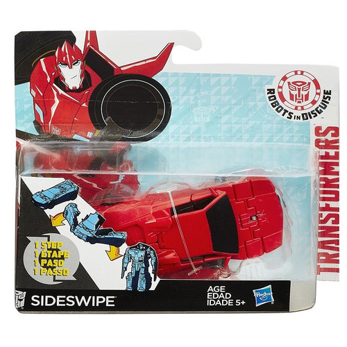 TRANSFORMERS ONE-STEP-CHANGER - SIDESWIPE