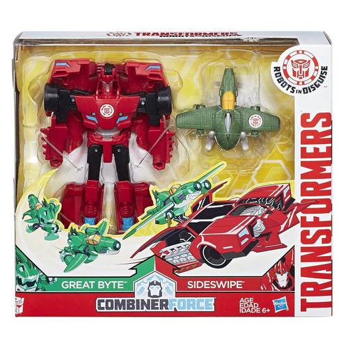 TRANSFORMER COMBINER PACK - GREAT BYTE & SIDESWIPE