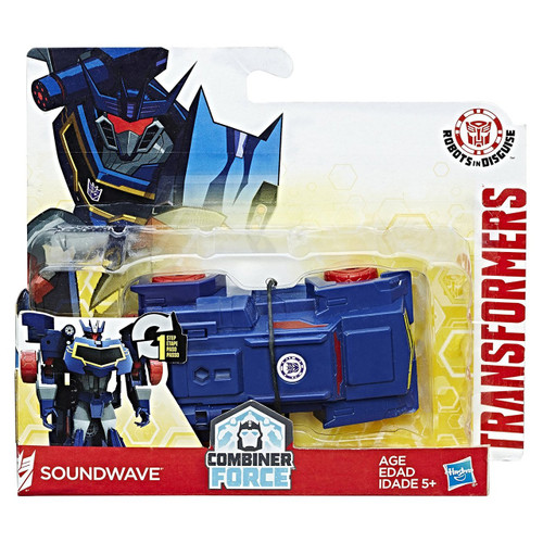 TRANSFORMERS ONE-STEP-CHANGER - SOUNDWAVE