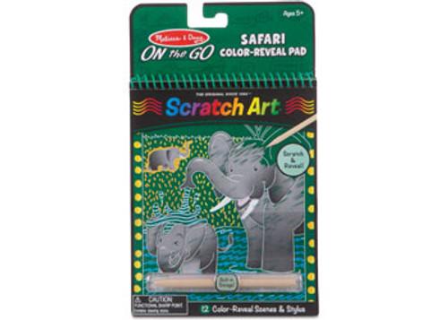 M&D ON THE GO - SCRATCH ART - SAFARI