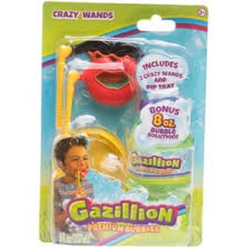 GAZILLION BUBBLES CRAZY WANDS - MO/MOUTH