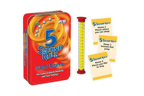 5 SECOND RULE GAME IN TIN