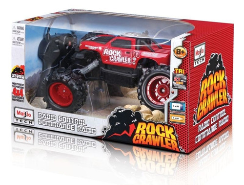 MAISTO TECH ROCK CRAWLER JNR 27MHZ - RED