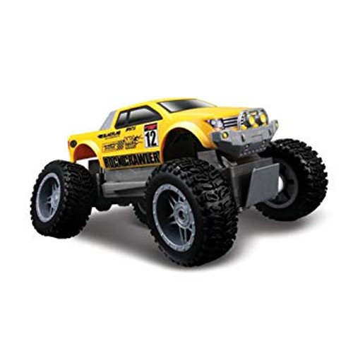 MAISTO TECH ROCK CRAWLER JNR 27MHZ - YELLOW