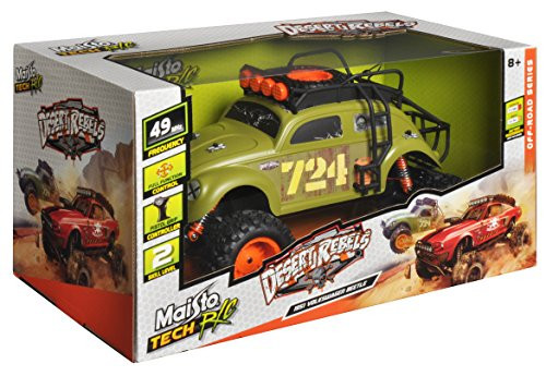 MAISTO TECH RC DESERT REBEL 1951 VW BEETLE - GREEN
