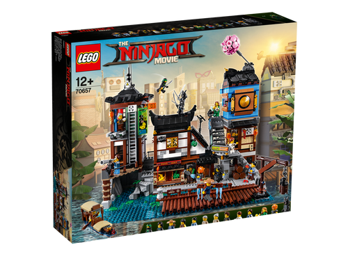 LEGO NINJAGO - NINJAGO CITY DOCKS
