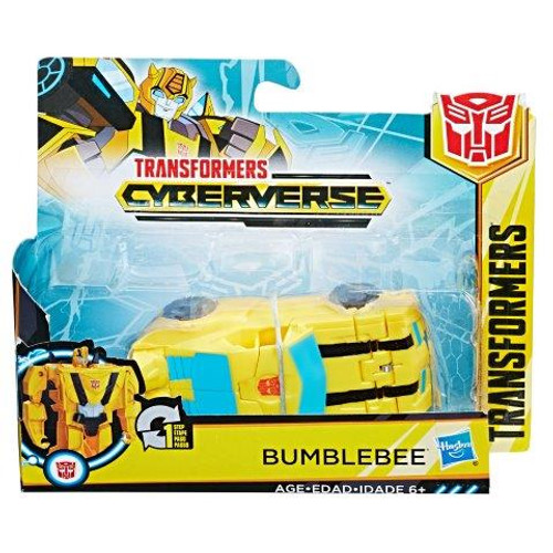 TRANSFORMERS CYBERVERSE 1 STEP CHANGER - BUMBLEBEE
