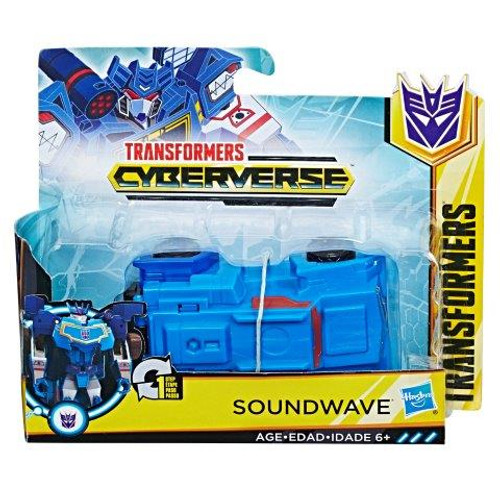 TRANSFORMERS CYBERVERSE 1 STEP CHANGER - SOUNDWAVE