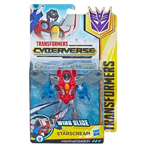 TRANSFORMERS CYBERVERSE WARRIOR - STARSCREAM