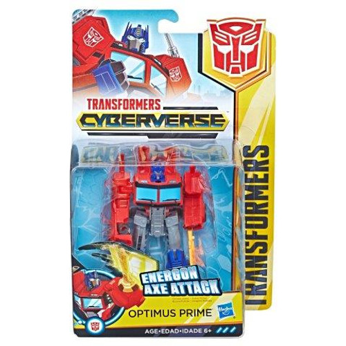 TRANSFORMERS CYBERVERSE WARRIOR - OPTIMUS PRIME