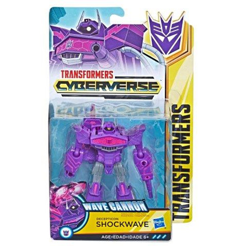 TRANSFORMERS CYBERVERSE WARRIOR - SHOCKWAVE