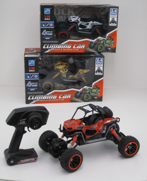 DUNE BUGGY OFF ROAD CLIMBER - ORANGE