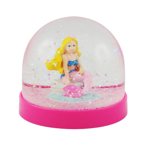 MERMAID ACRYLIC SNOW GLOBE