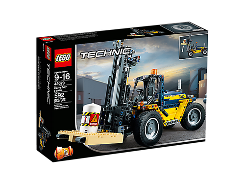 LEGO TECHNIC - HEAVY DUTY FORKLIFT