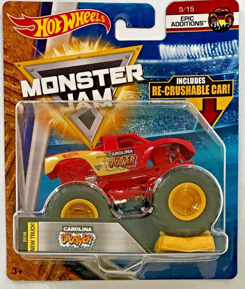 HOT WHEELS MONSTER JAM 1:64 - CAROLINA CRUSHER