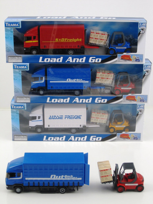 LOAD & GO TRUCK & FORKLIFT - RED