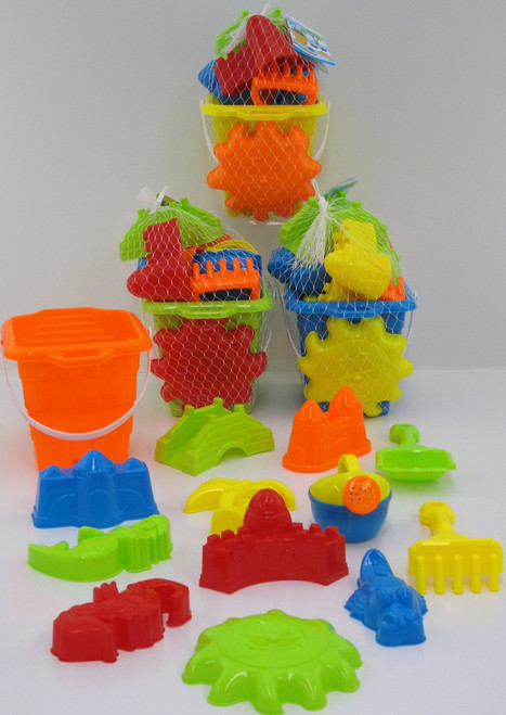 SQUARE SAND CASTLE BEACH SET