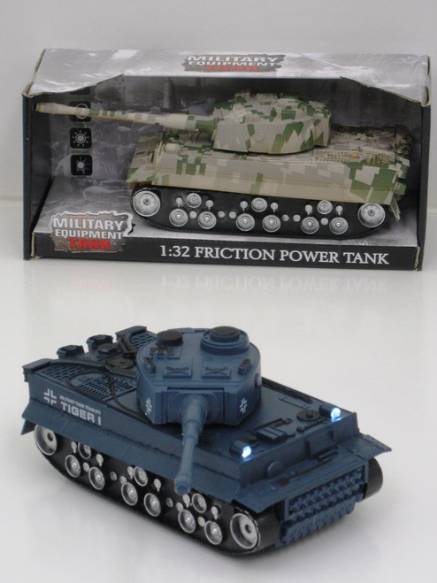 MILITARY FIGHTING BATTLE TANKS 1:32 SCALE - ARMY GREEN
