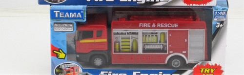 FIRE ENGINE RESCUE TRUCK