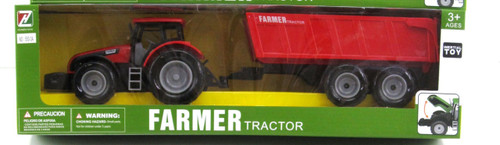 TIPPER TRAILER & FARM TRACTOR