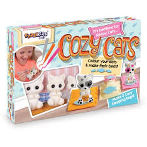 FUZZIKINS COLOUR IN FRIENDS - COZY CATS