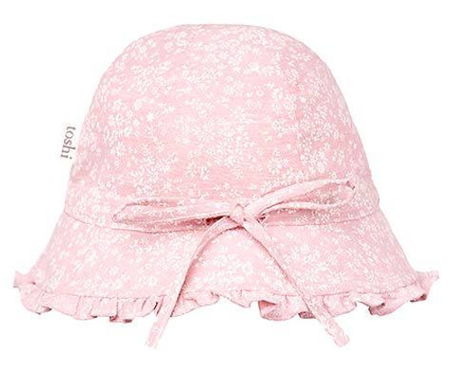 TOSHI BELL HAT MAE BLUSH SMALL
