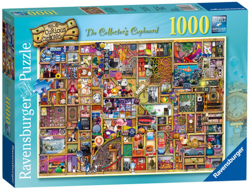 RAVENSBURGER - THE COLLECTORS CUPBOARD PUZZLE 1000 PCE