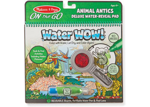M&D ON THE GO WATER WOW - ANIMAL ANTICS DELUXE