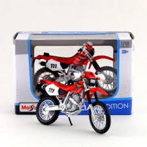 1:18 HONDA MOTORBIKE - XR400R