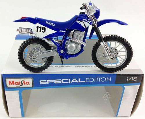 1:18 YAMAHA MOTORBIKE - TT-R250