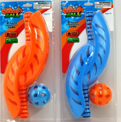 AIR SCOOP BALL SET - BLUE SCOOPS