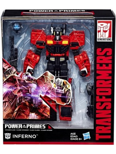 TRANSFORMERS GEN POWER OF THE PRIMES -INFERNO