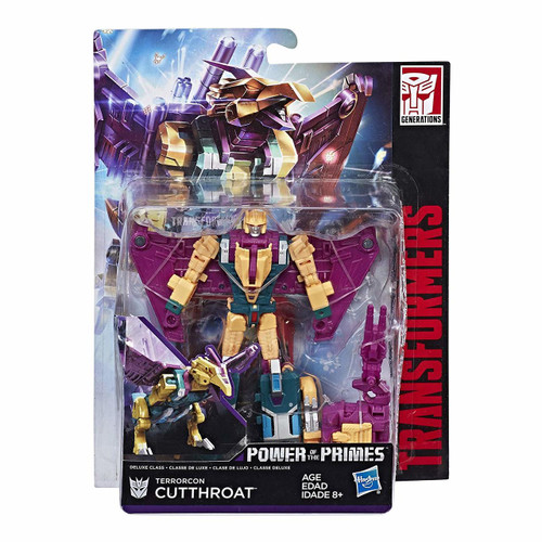 TRANSFORMERS GEN POWER OF THE PRIMES DELUXE - TERRORCON CUTT