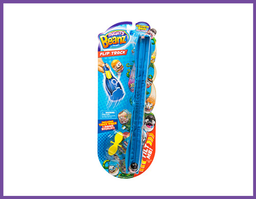 MIGHTY BEANZ S1 FLIP TRACK - BLUE