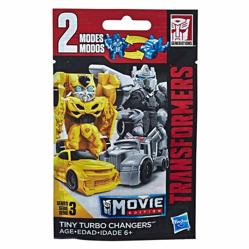 TRANSFORMERS MOVIE EDITION TINY TURBO CHANGERS