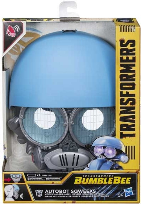 TRANSFORMERS MV6 VOICE CHANGER MASK - SQWEEKS