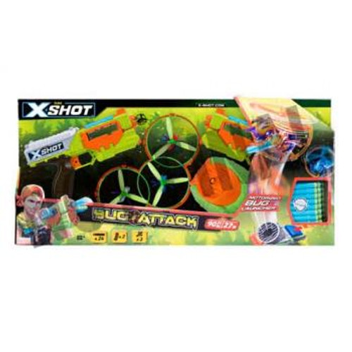 XSHOT BUG ATTACK FLYING BUGS DOUBLE PACK