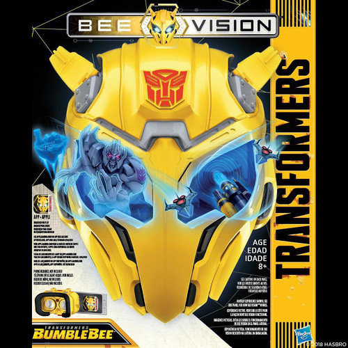 TRANSFORMERS MV6 BEE VISION MASK