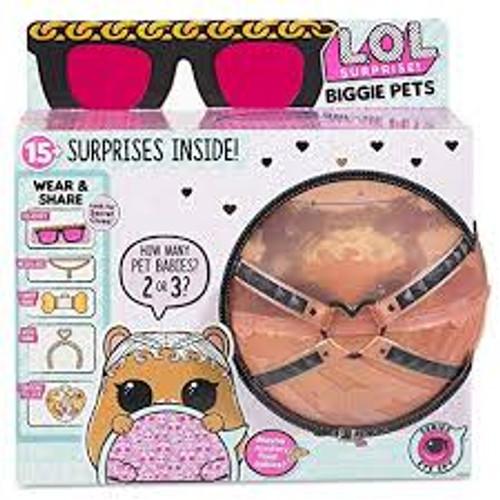 LOL SURPRISE BIGGIE PETS - BROWN BALL