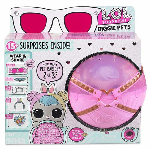 LOL SURPRISE BIGGIE PETS - PALE PINK BALL